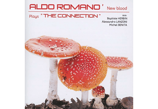 Aldo Romano, Alessandro Lanzoni, Michel Benita, Baptiste Herbin - New Blood Plays 'the Connection' [CD]