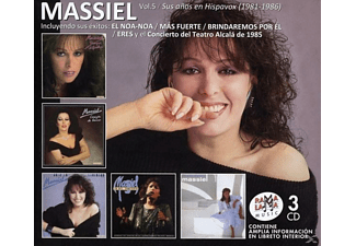 Massiel - Vol.5 / Sus Anos En Hispavox 1981-1986 [Box Set] - (CD)