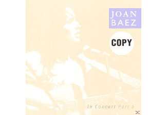 Joan Baez - Joan Baez In Concert Part 2 - (CD)