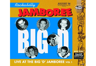 VARIOUS - The Big D Jamboree-Live - (CD)