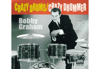 Bobby Graham - Crazy Drums/Crazy Drummer - (CD)