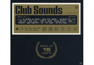 VARIOUS - Club Sounds - Best Of 15 Years - (CD)