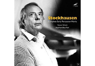 Steven/red Fish Blue Fish Schick - Complete Early Percussion Works [CD]