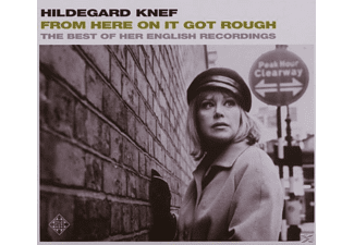 Hildegard Knef - From Here On It Got Rough-Best - (CD)