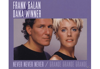 Dana Winner - GRANDE GRANDE GRANDE/NEVER NEVER NEVER - (Maxi Single CD)