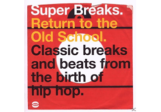 VARIOUS - Super Breaks-Return To The Old School - (CD)