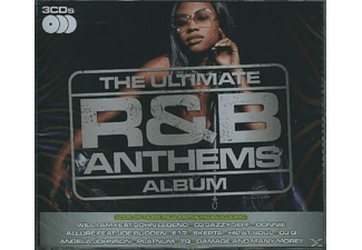 VARIOUS - THE ULTIMATE R&B ANTHEMS ALBUM - (CD)
