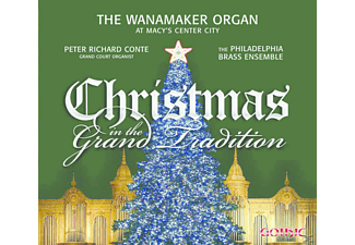 Peter/the Philadelphia Brass Conte - Christmas in the Grand Tradition - (CD)