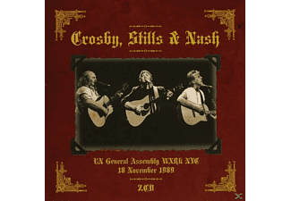 Crosby, Stills & Nash - New York, November 18, 1989 [CD]