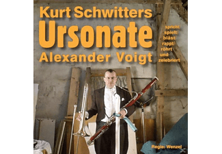 Alexer Voigt - Ursonate (Kurt Schwitters) [CD]