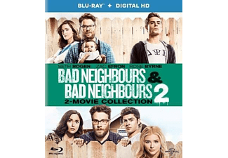 Bad Neighbours 1-2 | Blu-ray