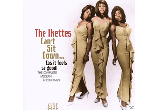 The Ikettes - CAN T SIT DOWN... COS IT FEELS - (CD)