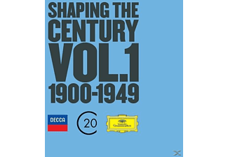 VARIOUS - Shaping The Century Vol.1 1900-1949 (Ltd.Edt.) [CD]