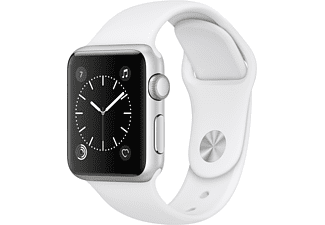 APPLE Watch Series 1 38mm zilver aluminium / wit sportbandje