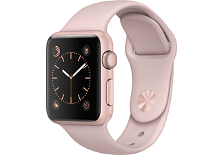 APPLE Watch Series 1 38mm rosegoud aluminium / rozenkwarts sportbandje