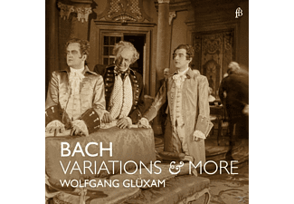 Wolfgang Glüxam - Variations & More-Goldbergvariationen/+ - (CD)