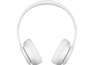 BEATS MNEP2ZM/A SOLO 3, On-ear Kopfhörer, Bluetooth, Lackweiß