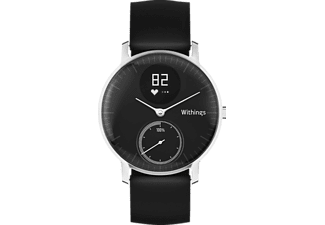 WITHINGS Activité STEEL HR, Activity Tracker, 36 mm, Schwarz
