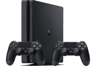 SONY Nya Playstation 4 Slim (inkl. 2 st handkontroller) - 500 GB