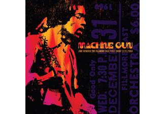 Jimi Hendrix - Machine Gun: The Fillmore East 12/31/1969 (Vinyl LP (nagylemez))