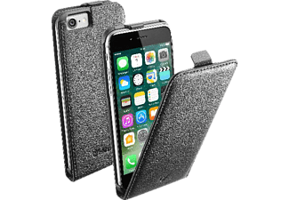 CELLULAR LINE FLAP ESSENTIAL, Flip Cover, iPhone 7, Kunstleder, Schwarz