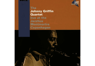 Johnny Quartet Griffin - At The Jazzhus Montmartre Vol.2 - (CD)
