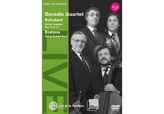 Borodin Quartet - String Quartetts Nos. 10 & 12 - (DVD)