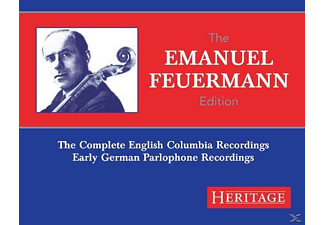 Emanuel Feuermann - The Emanuel Feuermann Edition - (CD)