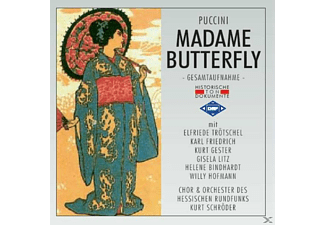 Chor U.Orch.D.Hess.Rundfunks - Madame Butterfly - (CD)