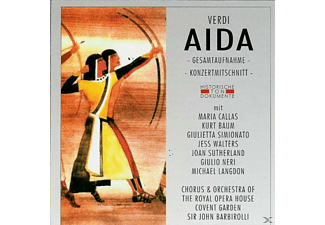 Chor.& Orch.Of The Royal Opera - Aida - (CD)