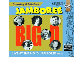 VARIOUS - Vol.2, The Big D Jamboree - (CD)