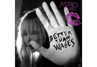Astrid & The Drunk Lovers Swan - Better Than Wages - (Vinyl)