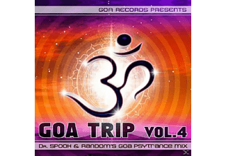 Compiled By Dr Spook & Random - GOA TRIP VOL.4 - (CD)