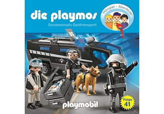 Die Playmos - (41)Sondereinsatz Geldtransport - (CD)