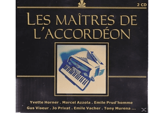 VARIOUS - Les Maitres De L'accordeon - (CD)
