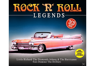 VARIOUS - Rock'n Roll Legends - (CD)
