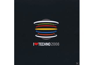 VARIOUS - I Love Techno 2008 - (CD)