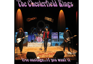 The Chesterfield Kings - Live Onstage-If You Want It - (CD)