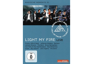 VARIOUS, Rock And Roll Hall Of Fame - RRHOF - LIGHT MY FIRE - (DVD)