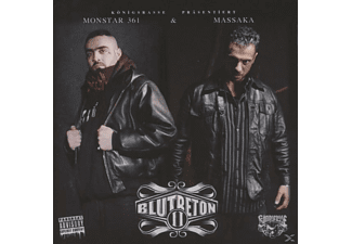 Monstar361 & Massaka - Blutbeton 2 - (CD)