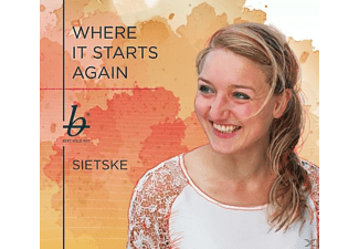 Sietske - Where It Starts Again - (CD)