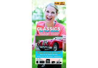 VARIOUS - Classics on the Move - (Multimedia Card)
