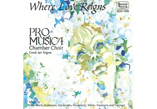 Jan Pro Musica Chamber Choir - Where Love Reigns [CD]