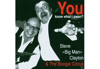 Steve & The Boogie Circus (gbr Clayton - You Know What I Mean? [CD]
