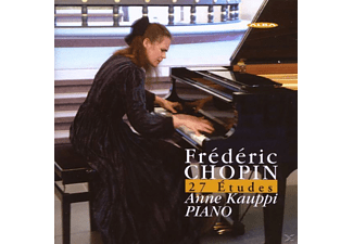 Anne Kauppi - 27 ETUDES - (CD)