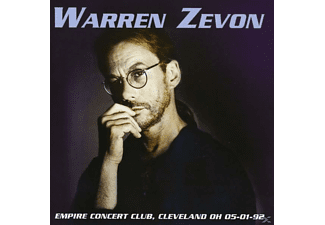 Warren Zevon - Empire Concert Club, Cleveland Oh 05-01-92 [CD]