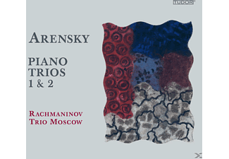 The Moscow Rachmaninov Trio - Klaviertrios 1+2 - (CD)