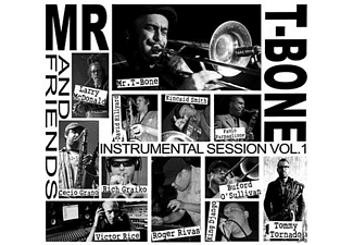 Mr.T-Bone & Friends - Instrumental Sessions Vol.1 - (CD)