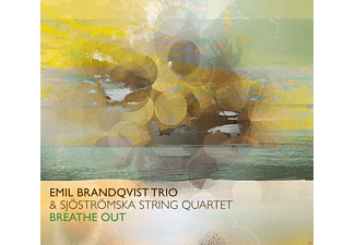 Emil Brandqvist Trio & Sjoströmska String Quartet - Breathe Out (Feat. Sjöströmska String Quartet) - (CD)