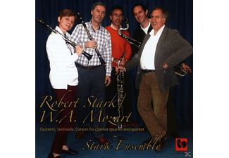 Stark Ensemble - Quintets, Serenade, Dances For Clarinet, Quartet And Quitet - (CD)